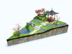 Psyho為旅游公司設計的3D插畫