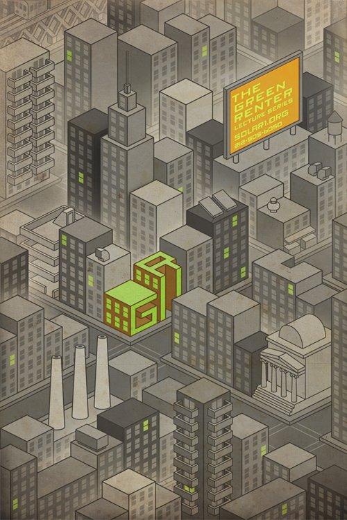 国外城市题材海报设计欣赏(3)