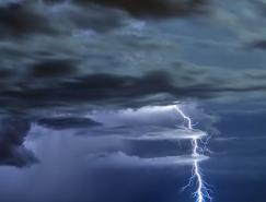 漂亮的闪电摄影作品