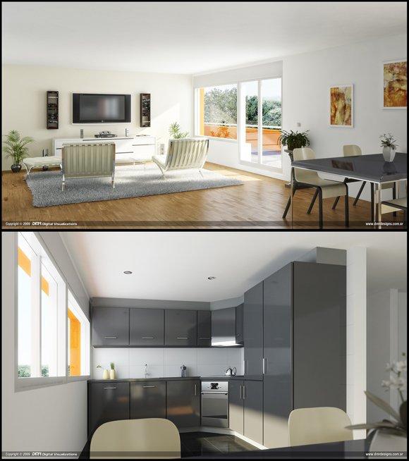 50张漂亮的室内装修效果图欣赏