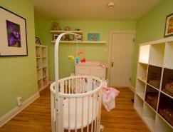 14个可爱的婴儿房装修设计