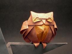 乌拉圭折纸艺术家RomanDiaz作品欣赏