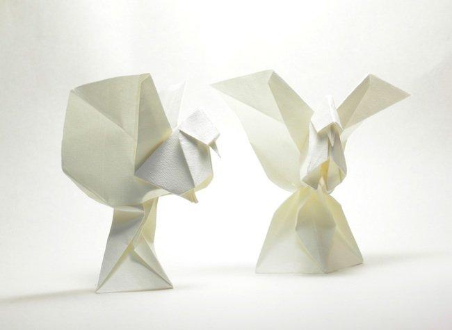 乌拉圭折纸艺术家roman diaz作品欣赏