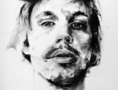 NickLepard肖像绘画作品