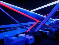 Blackbox体育俱乐部前卫的室内设计