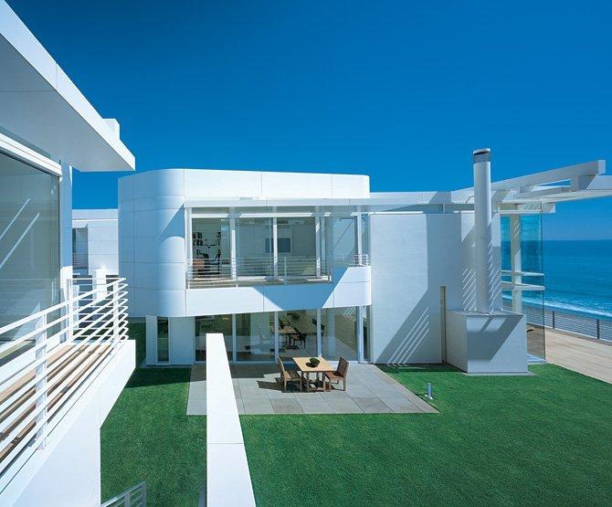 风格各异的海滨别墅设计
