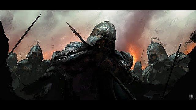 10张战斗中的骑士CG作品欣赏