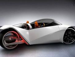 标致Velocite环保三轮概念车