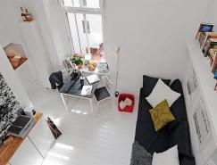 國外一套小戶型公寓裝修設計
