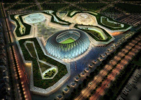 卡塔尔申办2022年世界杯球场效果图欣赏