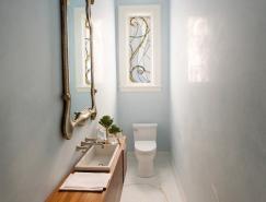 狭长空间的卫生间设计