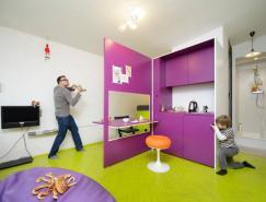 21.5平米的小公寓室内设计