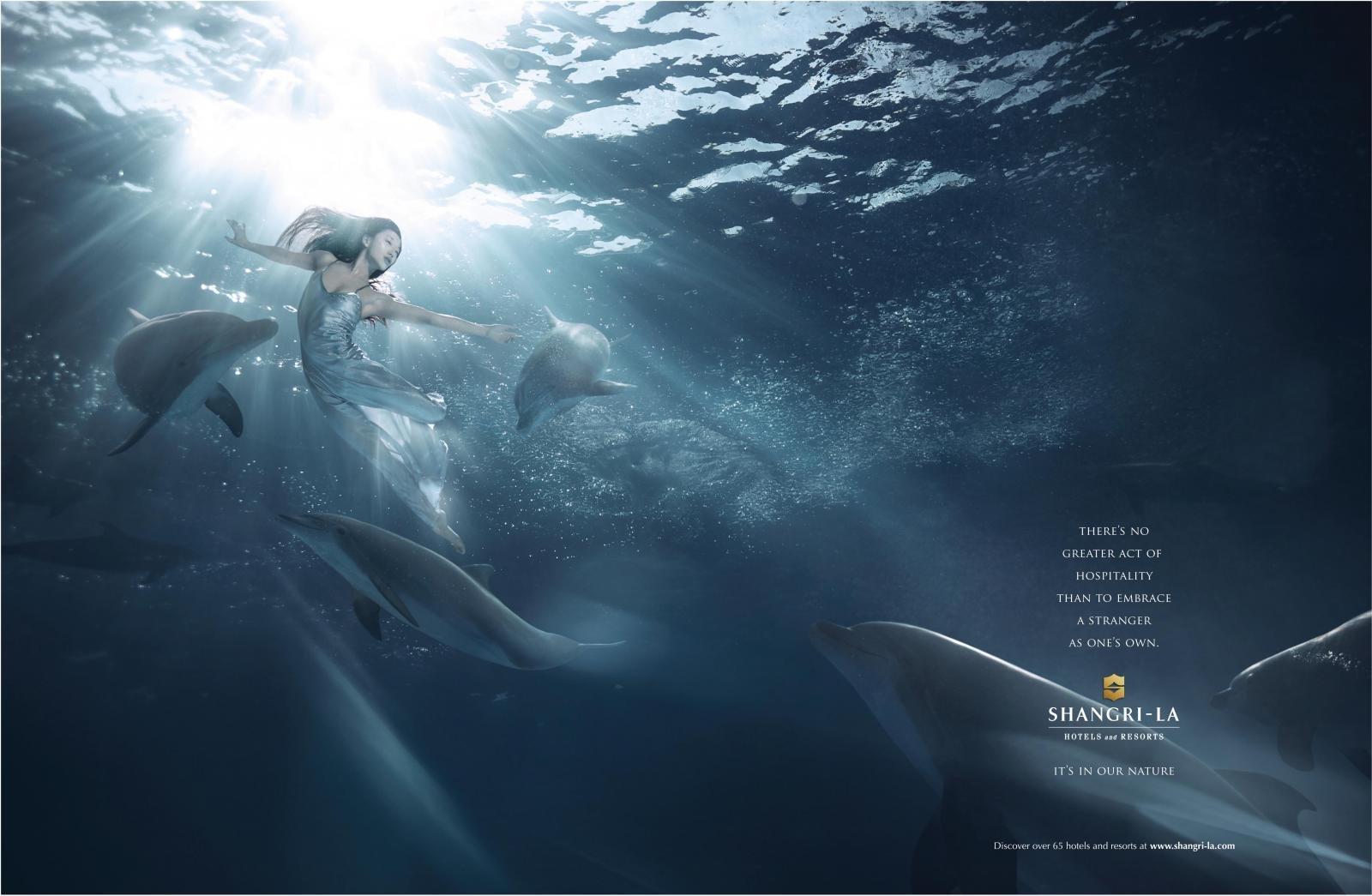 香格里拉酒店广告欣赏图片