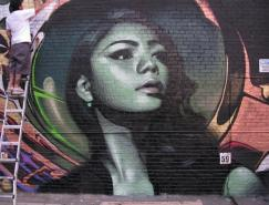 国外画家的街头艺术