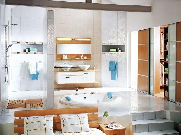 30个漂亮舒适的浴室设计