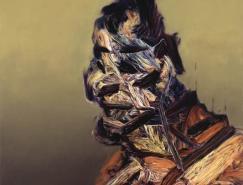 英国艺术家GlennBrown绘画作