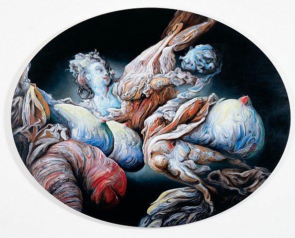 英国艺术家glenn brown绘画作品欣赏