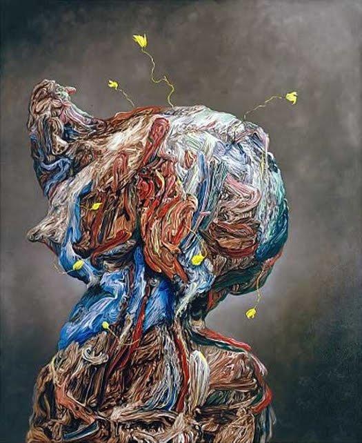 英国艺术家glenn brown绘画作品欣赏(2)