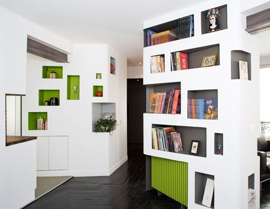 完美的空间利用:60平米公寓室内设计