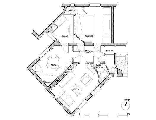 60平方房子平面設計圖