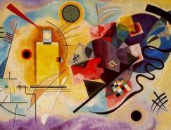 现代抽象派艺术大师瓦西里·