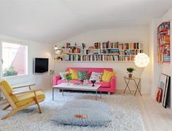 瑞典一套頂樓小公寓設計