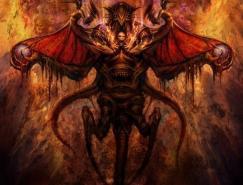 35张邪恶的恶魔CG艺术
