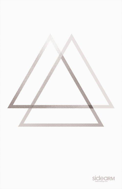 35张应用三角形元素海报设计(2)