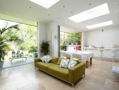 伦敦Balham纯白色风格住宅