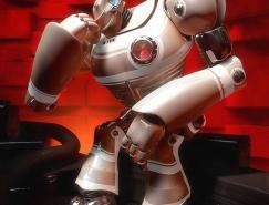 40个超酷3D机器人艺术澳门金沙网址