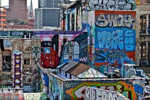 30个漂亮的街头涂鸦艺术作品