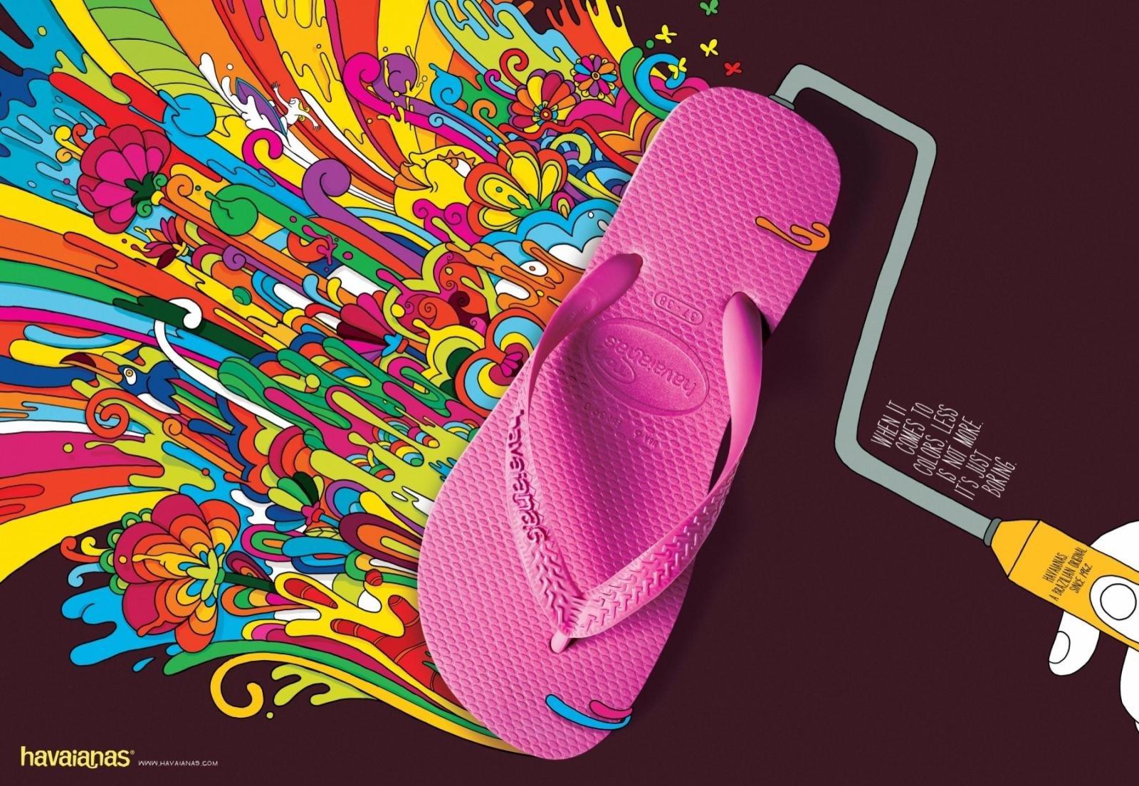 音乐资讯_Havaianas人字拖鞋创意广告 - 设计之家