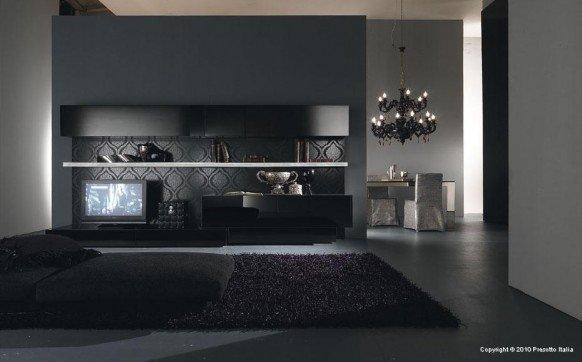 国外现代客厅设计欣赏(1)