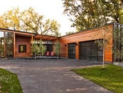 Farquar湖木结构豪华别墅设计