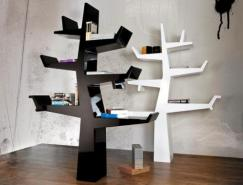 创意树形书架设计
