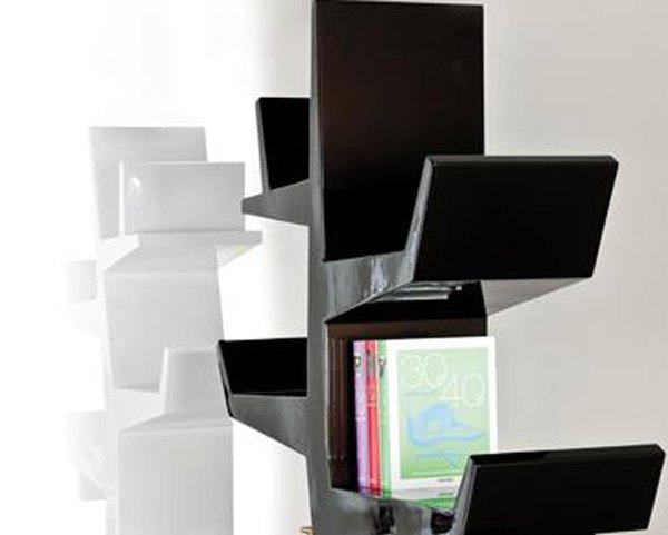 创意 设计 家具/创意树形书架设计...