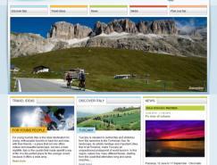20个国家旅游组织网站设计欣赏