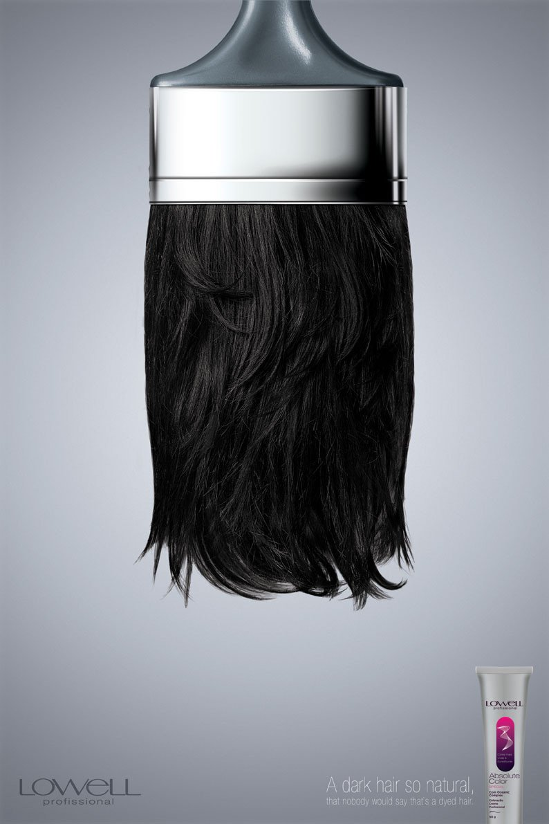 47张美容产品创意广告欣赏(5) - 设计之家