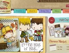 20个创意儿童网站设计