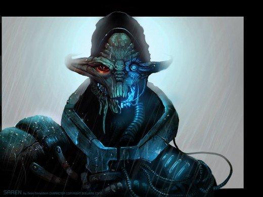 24张外星生物题材cg欣赏
