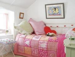 国外一组儿童卧室配色方案欣赏