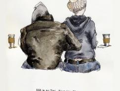 WendyMacNaughton水彩插画欣赏