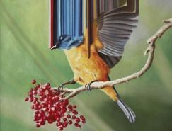 MaurizioBongiovanni画笔下特别的小鸟