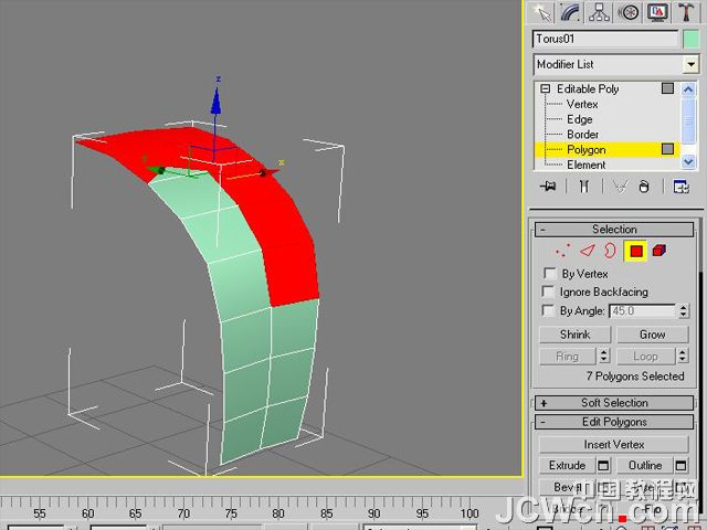 3ds MAX建模实例教程:制作汽车轮胎_webjx.com
