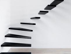 10個超酷的漂浮樓梯設計