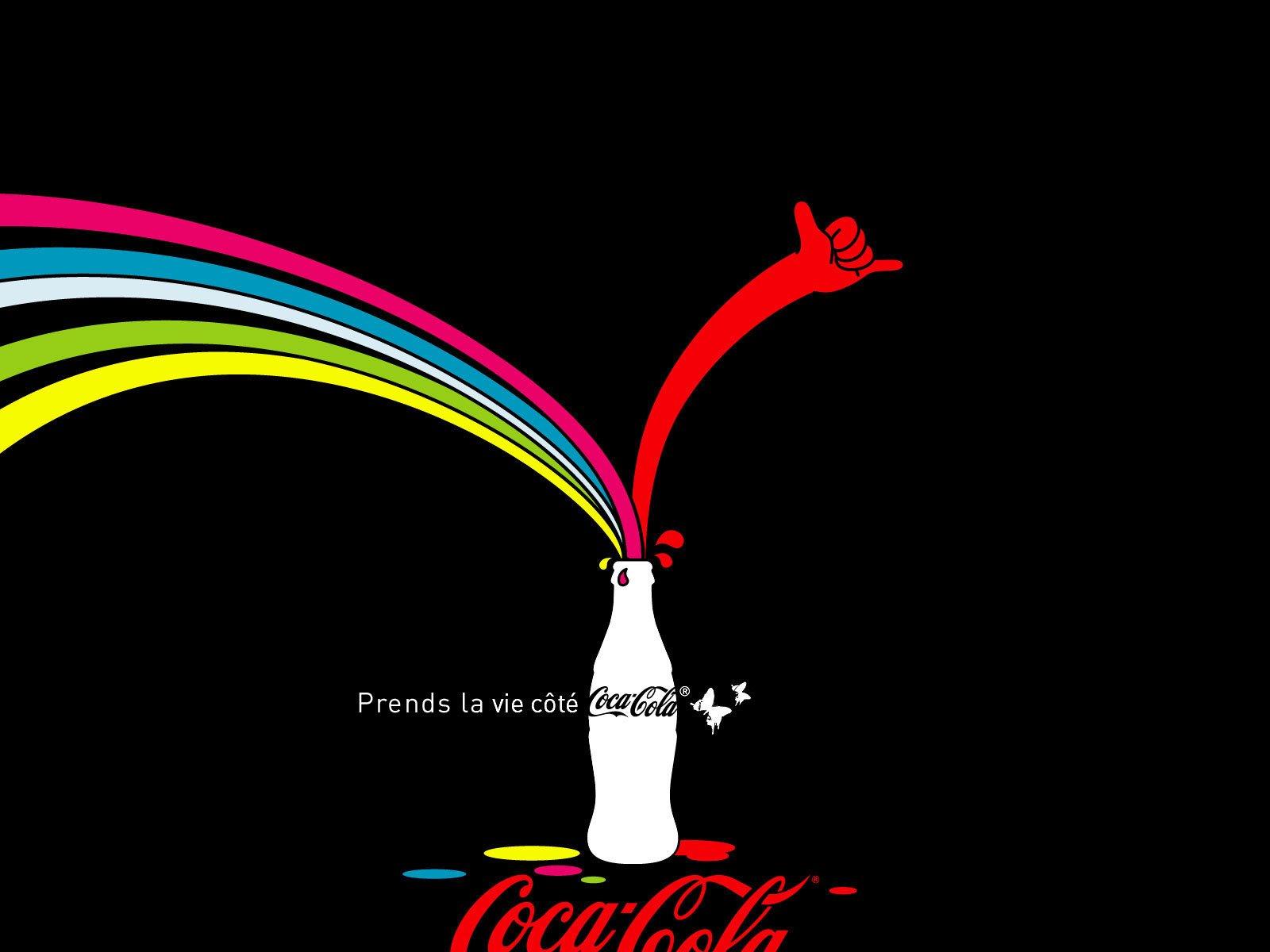 可口可乐创意海报和广告设计(2)图片
