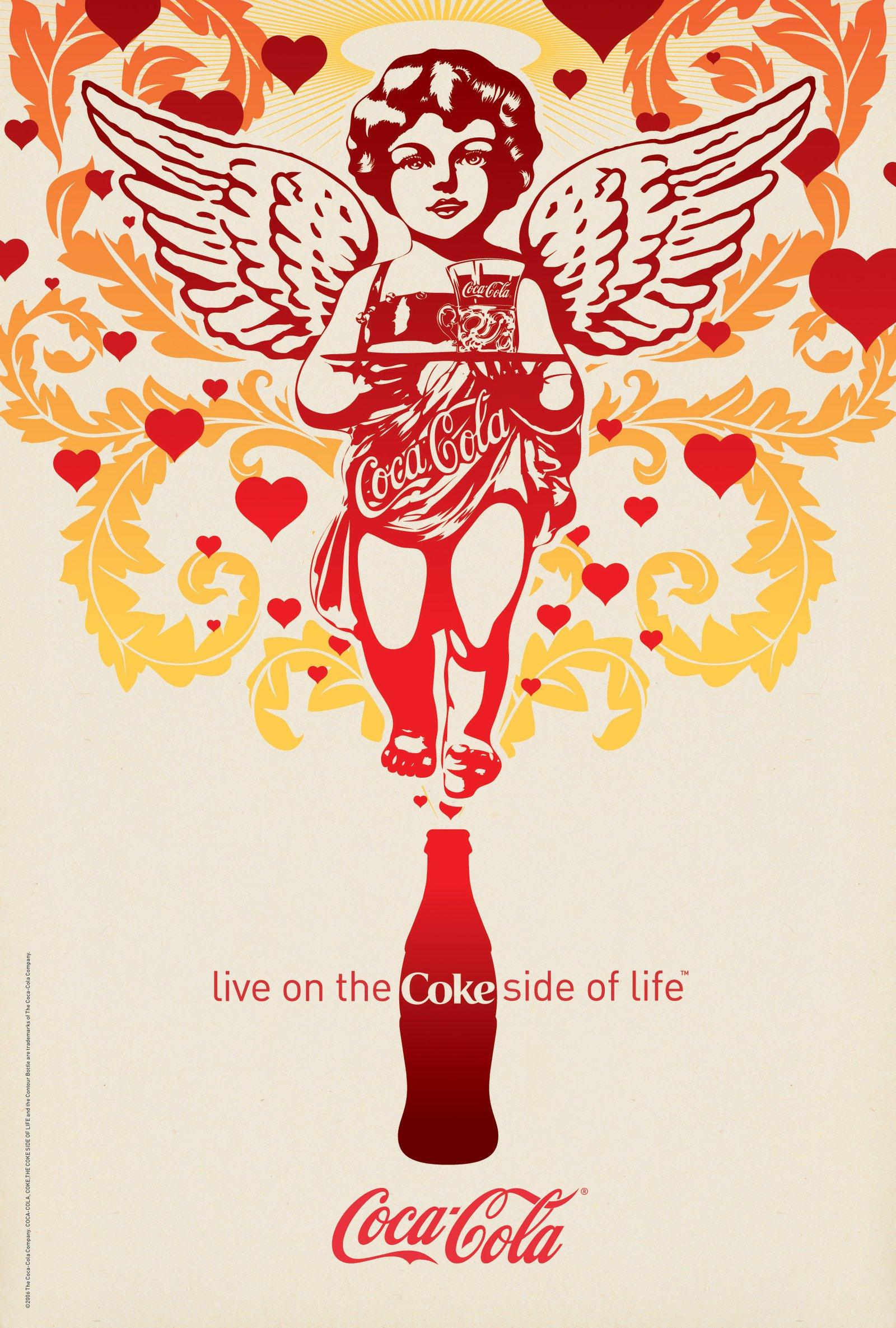 可口可乐创意海报和广告设计(5)图片
