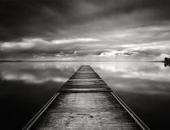 MichelRajkovic宁静的黑白风景摄影