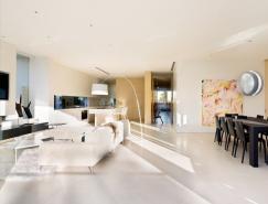明亮又通风的豪华公寓室内设计欣赏