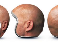 俄罗斯广告公司GOOD!:创意头盔贴膜